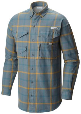 Men's Bonehead™ Flannel Long Sleeve Shirt | Tuggl