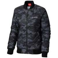 Deals on Columbia Women's Hawlings Hill Printed Bomber