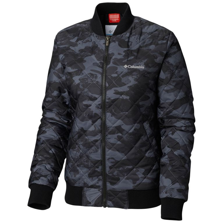 Columbia Women's Hawlings Hill Printed Bomber