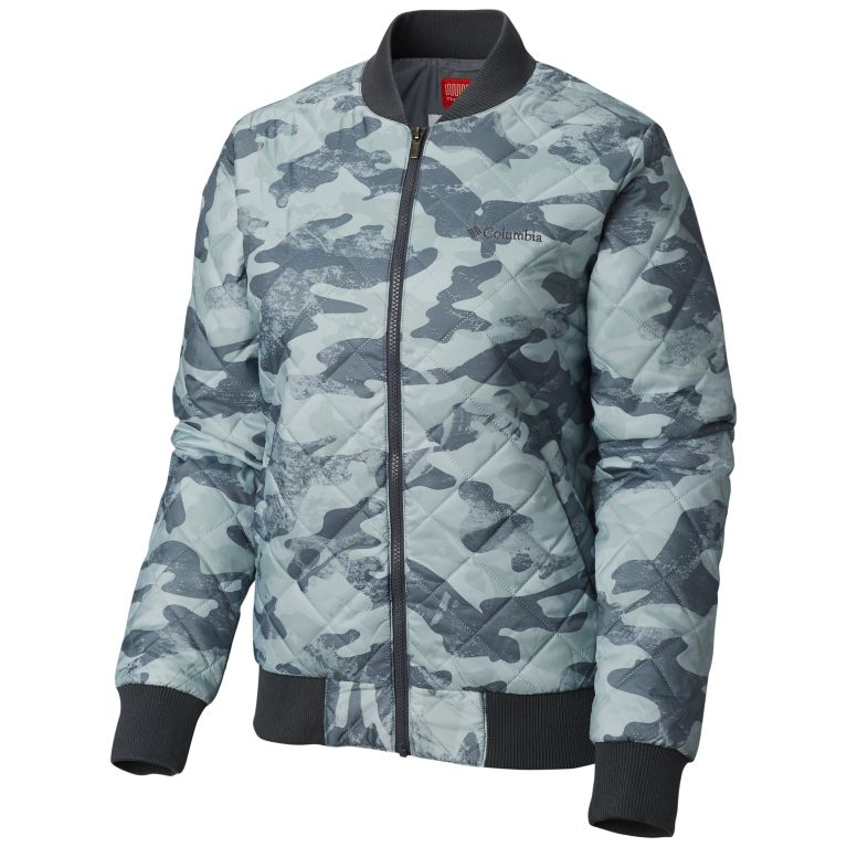 Columbia Hawlings Hill Printed Womens Bomber (Multiple Colors)