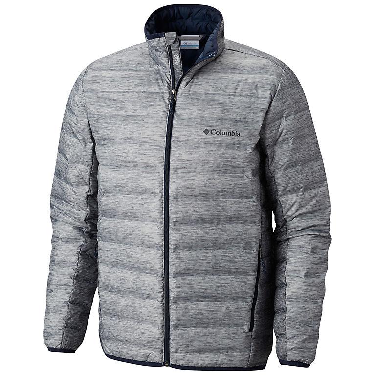 440232cffe0 Columbia Grey Heather Print Men s Lake 22™ Down Jacket