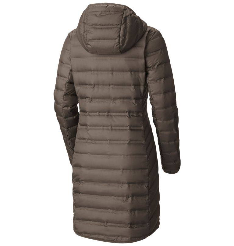 Women's Lake 22™ Long Hooded Jacket Women's Lake 22™ Long Hooded Jacket, back
