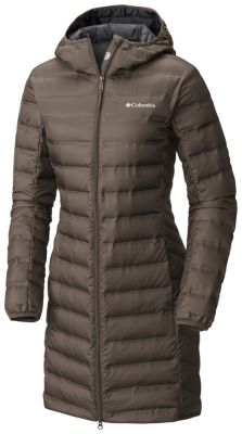 Women's Lake 22™ Long Hooded Down Jacket | Tuggl