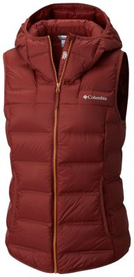 Women's Explorer Falls™ Hooded Vest at Columbia Sportswear in Oshkosh, WI | Tuggl