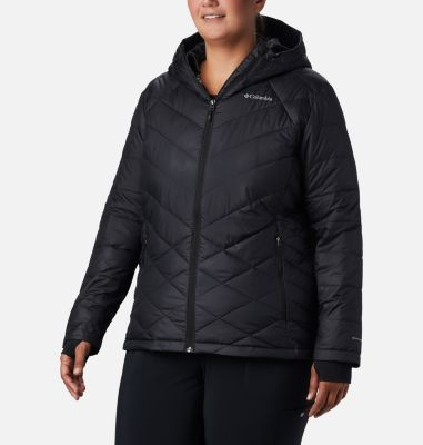 Women's Heavenly™ Hooded Jacket - Plus Size | Tuggl