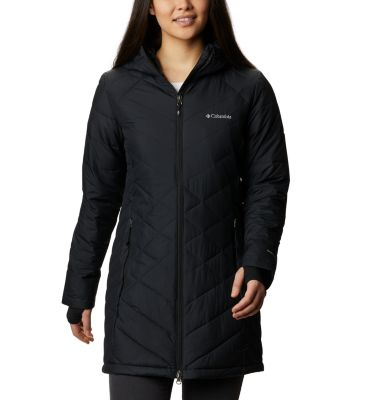 Women s Heavenly Water-Resistant Insulated Long Jacket  8af2a8327