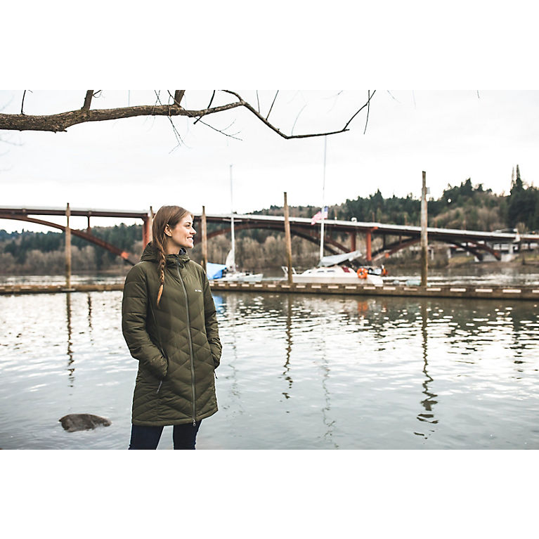 1470480b7c6 Light Bisque Women s Heavenly™ Long Hooded Jacket - Plus Size