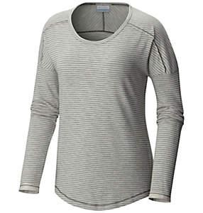 Women's Easygoing™ LS Stripe Tee - Plus Size