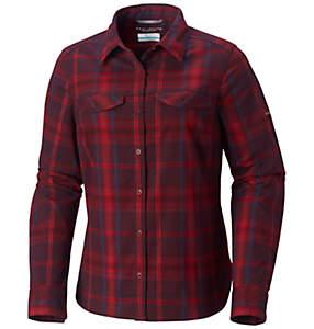 Chemise à manches longues en flanelle Silver Ridge™ pour femme