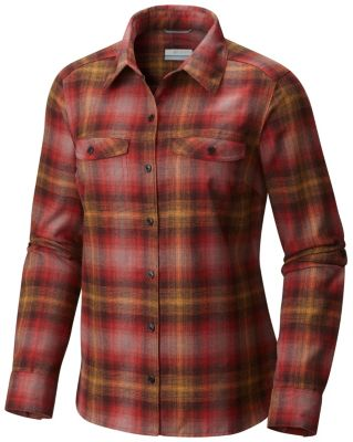 Women's Silver Ridge™ Long Sleeve Flannel Top | Tuggl