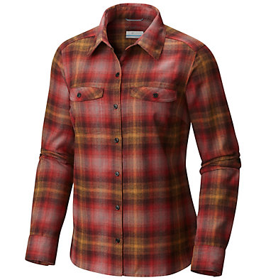 Women's Silver Ridge™ Flannel Long Sleeve Shirt , front