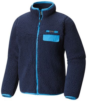 Youth Mountain Side™ Heavyweight Full Zip Fleece | Tuggl