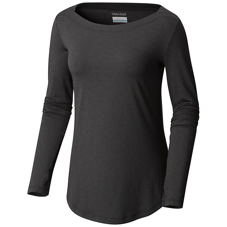 Women s Place to Place Long Sleeve Boat Neck Wicking Shirt  e1bd8240d4
