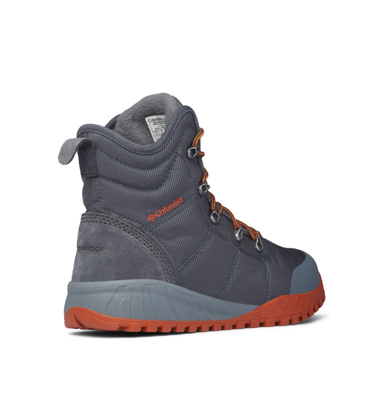FAIRBANKS™ OMNI-HEAT™ | 053 | 7.5 Men's Fairbanks Omni-Heat Boots, Graphite, Dark Adobe, 3/4 back