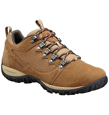 Men's Peakfreak Venture Low Suede Waterproof Shoes , front