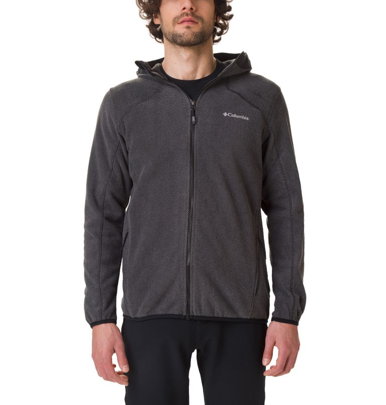 Men's Tough Hiker™ Full-Zip Hooded Fleece Men's Tough Hiker™ Full-Zip Hooded Fleece, front
