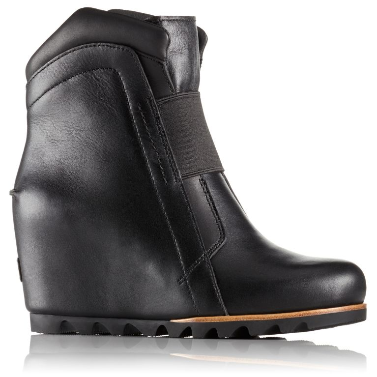 71ae928b74b Women s Fiona Waterproof Leather Wedge Lux Bootie