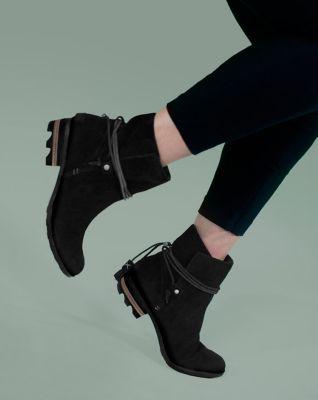 Boot Ankle With Suede Sorel Women's Farah Tassel Waterproof Short 0qp7wRF