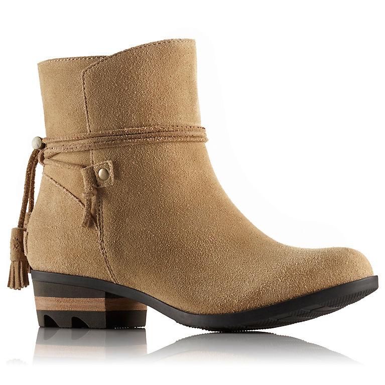 64b2bbb0889 Women s Farah Short Waterproof Suede With Tassel Ankle Boot