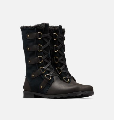 71f6d57ab33a9a Women's Emelie Lace Up Insulated Waterproof Leather And Suede Boot | SOREL