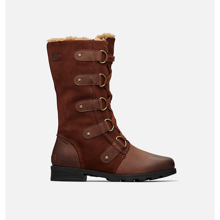 3166db621b05 Women s Emelie Lace Up Insulated Waterproof Leather And Suede Boot ...