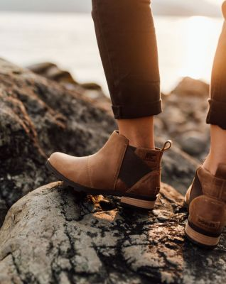 592923d29c62 Women s Emelie Mid Waterproof Leather Chelsea Rain Ankle Boot