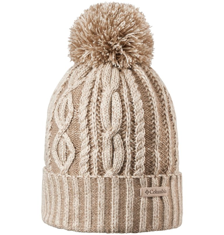 Blizzard Pass™ Beanie | 160 | O/S Gorro Blizzard Pass™ para mujer, Fossil, front