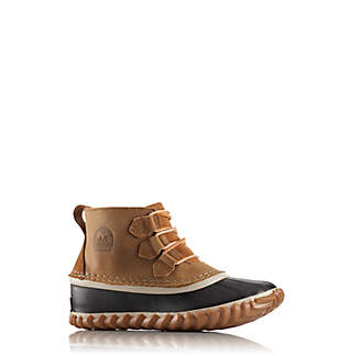 Big Kids' Out 'N About™ Leather Lace Boot