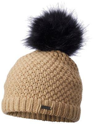 c2c63f6b7 Women s Cozy Knit Faux Fur Pom Warm Beanie