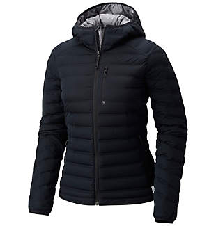 Manteau à capuchon StretchDown™