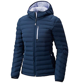 Manteau à capuchon StretchDown™