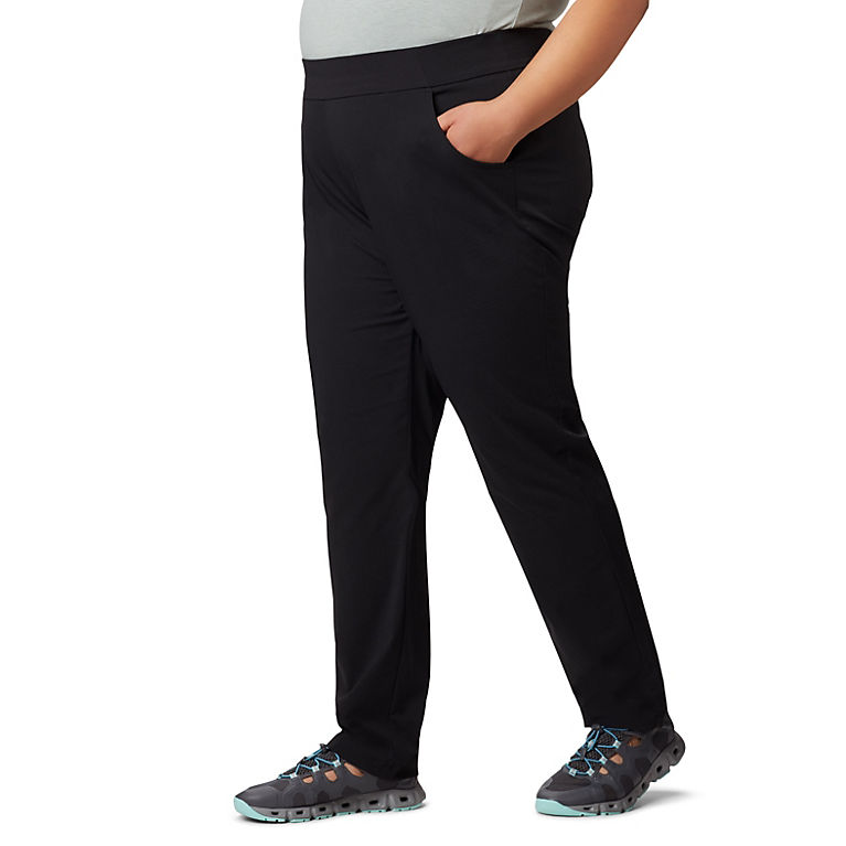 c107d9529f3 Black Women s Anytime Casual™ Pull On Pant - Plus Size