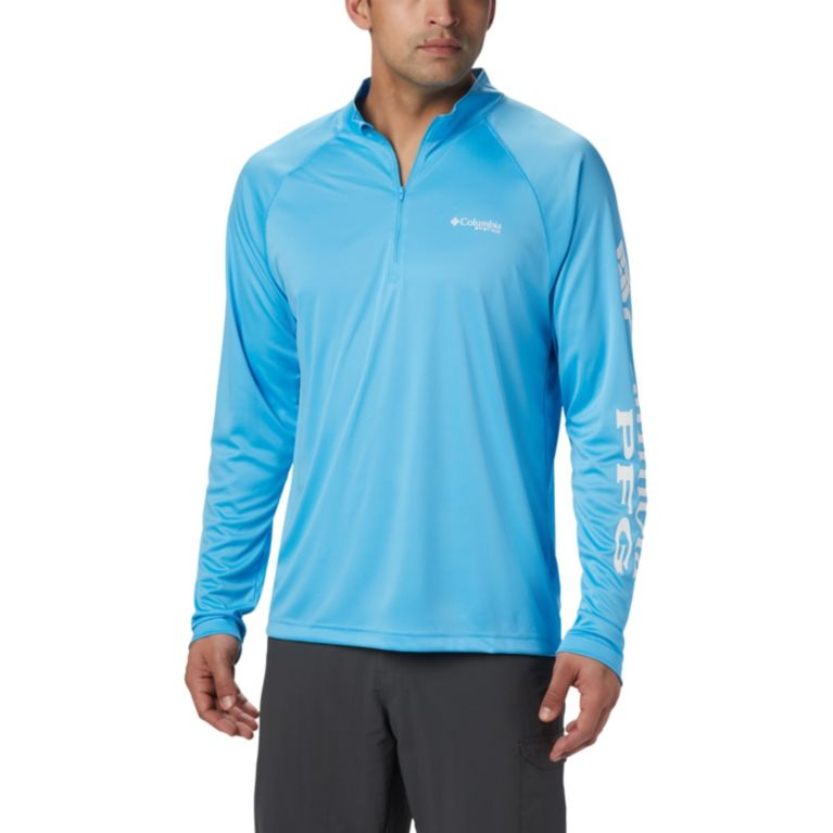 Columbia Mens PFG Terminal Tackle 1/4 Zip Pullover