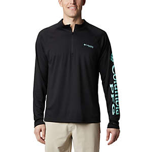 Men's PFG Terminal Tackle™ 1/4 Zip Pullover - Big