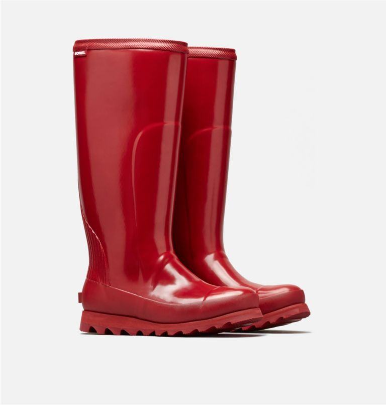 Women's Joan™ Rain Tall Gloss Boot Women's Joan™ Rain Tall Gloss Boot, 3/4 front