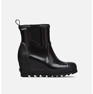 Women's Joan™ Rain Wedge Chelsea Gloss Boot