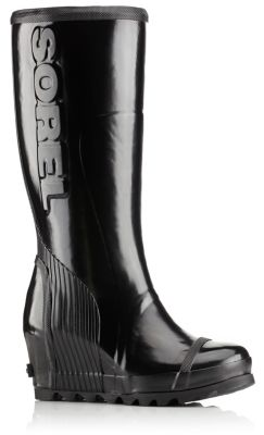 Sorel Joan Rain Wedge Tall Boot (Women's) EPqUR03MxV