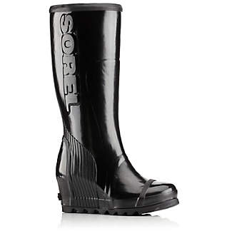 Women's Joan™ Rain Wedge Tall Gloss Boot