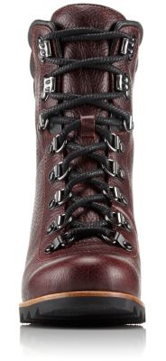 f6cf57685 Women's Conquest Lux Waterproof Leather Lace Up Wedge Ankle Boot | SOREL
