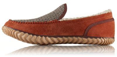 878350573a6 Men s Dude Moc Suede Wool Lined Moccasin Slipper Shoe