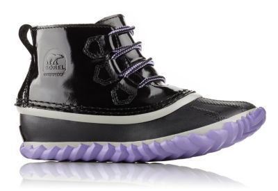 Youth Out 'N About™ Patent Leather Lace Boot