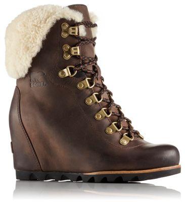 Conquest™Wedge Schuh mit Lammfellbesatz für Damen