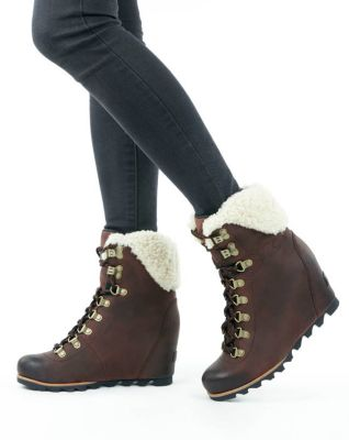 3897bb99ea4 Women s Conquest™ Wedge Shearling Boot