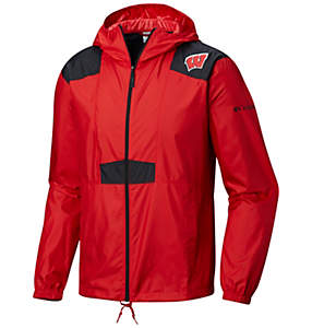 Men's Collegiate Flashback™ Windbreaker - Wisconsin