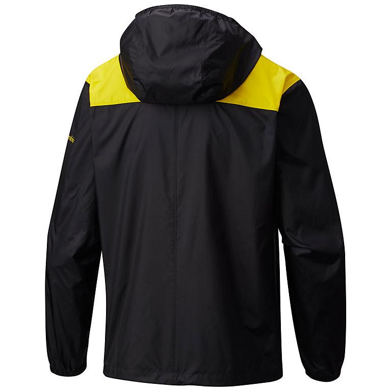 bb521291 UO - Black, Yellow Glo Collegiate Flashback™ Windbreaker - Oregon, View 1
