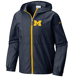 Collegiate Youth Flashback™ Windbreaker - Michigan