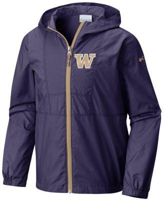 Collegiate Youth Flashback™ Windbreaker - Washington