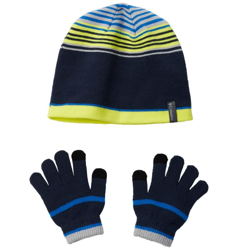 Youth Hat and Glove Set™ | 464 | O/S Youth Hat and Glove Set™, Collegiate Navy, front