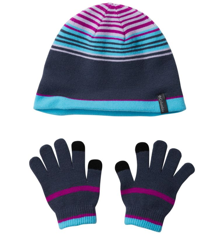 Youth Hat and Glove Set™ | 466 | O/S Youth Hat and Glove Set™, Nocturnal, front