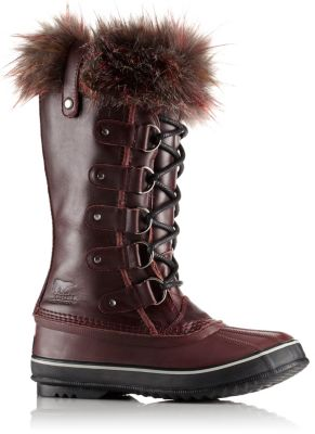 Sorel Boot Liners >> Women's Joan Of Arctic Lux Waterproof Leather Cashmere Lined Faux Fur Trimmed Insulated Winter ...